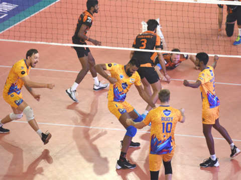 Pro Volleyball off to flying start