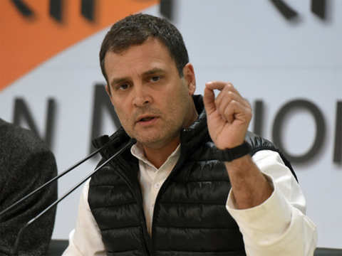 Congress party stands with the security forces and government: Rahul Gandhi