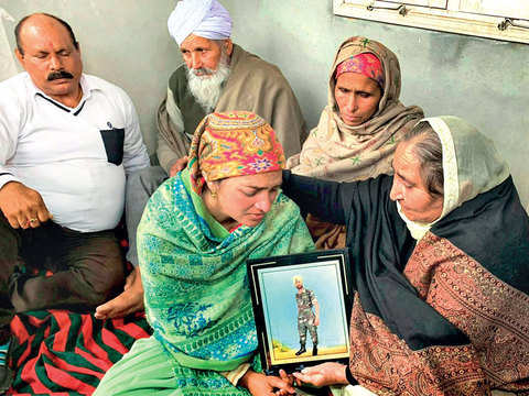 Pulwama attack: Tragic aftermath grips families