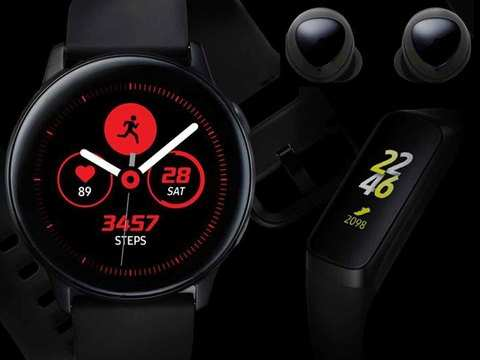 Samsung accidentally leaks wireless ear buds, smartwatch, and fitness band