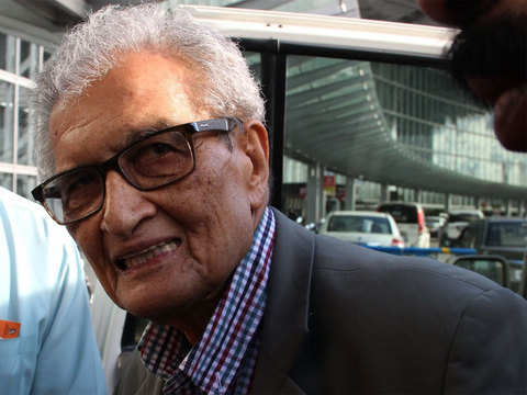 "The coming Lok Sabha polls will bring ""good result"", hopes Amartya Sen"