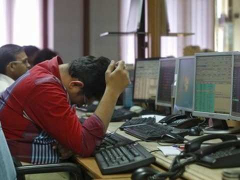 Sensex plunges 311 pts on oil, rupee sting
