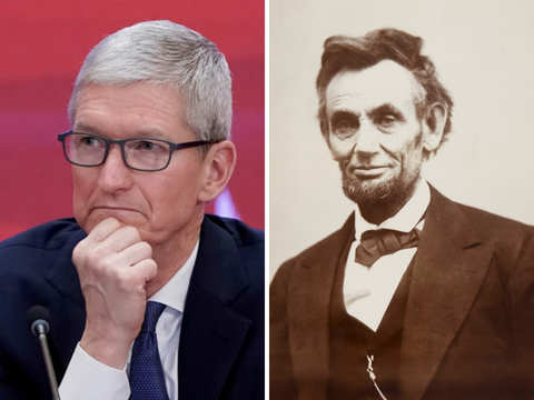 Tim Cook tweets Abraham Lincoln, leaves Apple loyalists in a dilemma