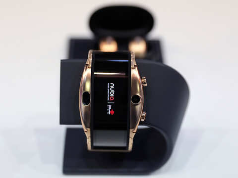 MWC 2019: Nubia launches smartwatch 'Alpha' with the largest flexible screen