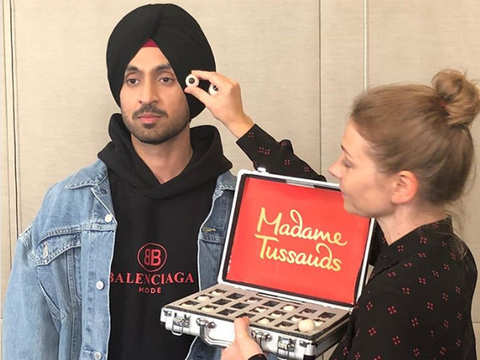 Diljit Dosanjh gets a wax statue at Madame Tussauds in Delhi