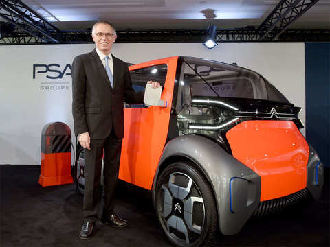 Groupe PSA plans India return by 2021 with Citroen