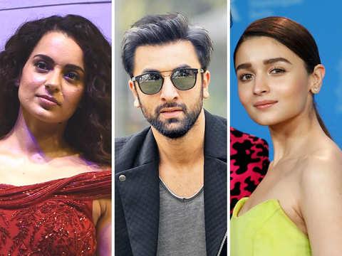 Kangana Ranaut calls Ranbir Kapoor, Alia Bhatt irresponsible for their 'apolitical' comments