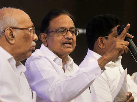 P Chidambaram welcomes merger of banks