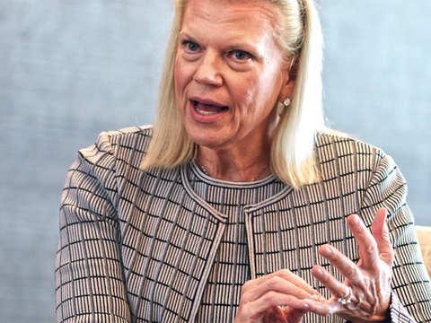 Differentiate between consumer & biz data: Ginni Rometty, IBM CEO