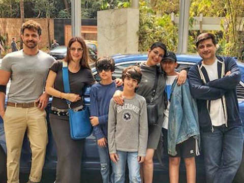 From hospitalisation to lunch with loved ones: Sonali Bendre celebrates her 'new normal' with family & friends