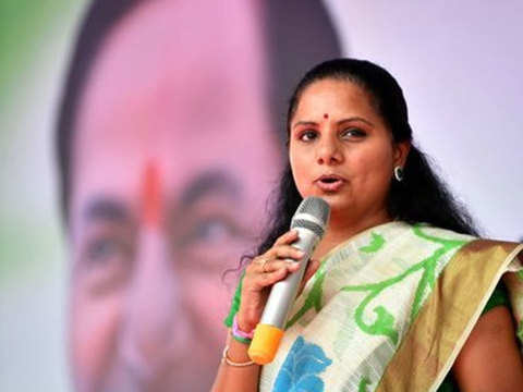 Two-third of Congress MLAs likely to join TRS, hints K Kavitha