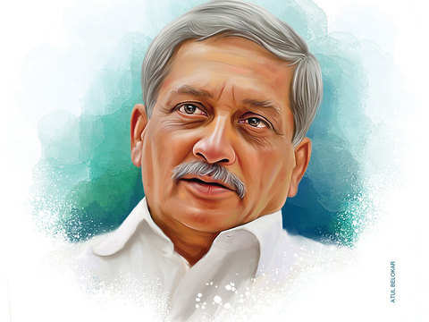 Manohar Parrikar cremated with full military, state honours