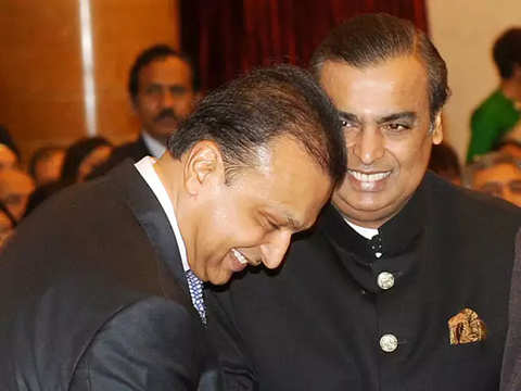 Anil Ambani thanks elder brother Mukesh Ambani for paying Ericsson dues