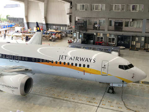 Jet Airways operating a schedule with 41 aircraft: DGCA