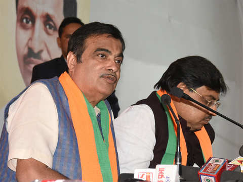 Voters must choose between development and politics of fear: Nitin Gadkari