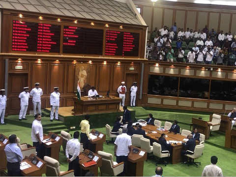 Pramod Sawant sails through Goa Assembly floor test