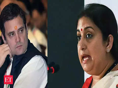 Smriti Irani vs Rahul Gandhi once again in Amethi