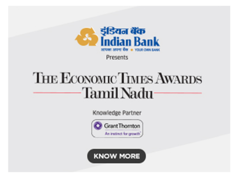 "Indian Bank – carrying ""Your Own Bank"" tag with utmost pride!"