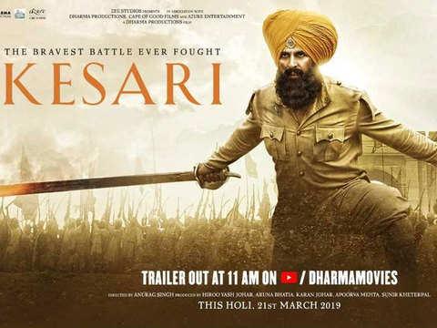 'Kesari' rakes in Rs 78.07 cr in 4 days, is 2019's top opening-weekend earner