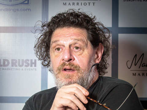 Marco Pierre White says his bad boy image is a result of exaggeration and ignorance