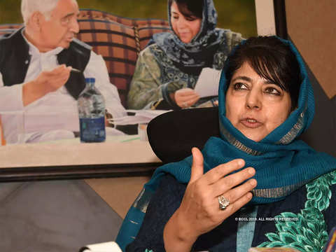 End to accession with India if special status is removed: Mehbooba Mufti