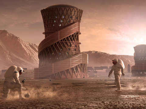 A 3D-printed Martian home may soon be a reality, thanks to NASA