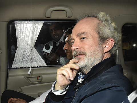 Christian Michel knew Mrs Gandhi since 1986: ED