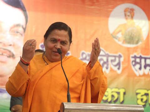 BJP names 24 candidates, Uma Bharti among 10 dropped