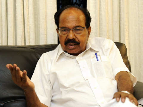 Hat-trick hopeful Veerappa Moily may have it tough this time