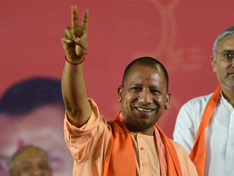 Terrorists, Naxals afraid of BJP government: Yogi Adityanath