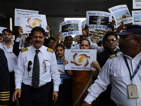 Jet Airways pilots appeal to SBI for funds, also ask PM Modi to save 20,000 jobs