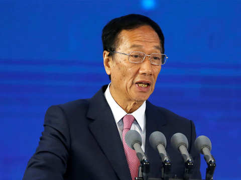 Foxconn chief hints reduced role, will remain chairman