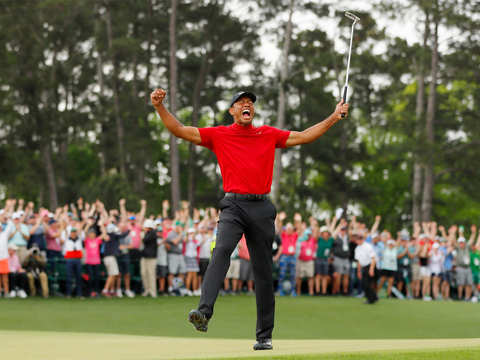 Tiger Woods' Masters victory: One of the greatest comebacks in sporting history