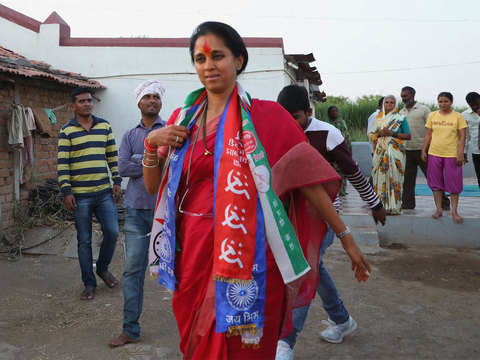 PM keen on defeating Supriya Sule, says BJP minister Chandrakant Patil