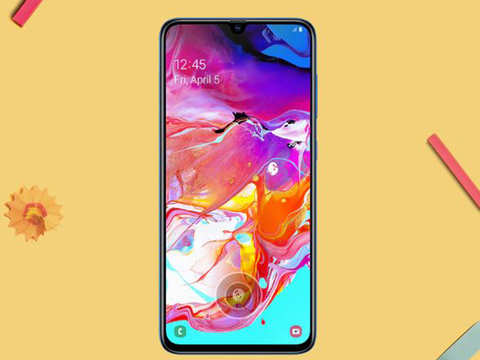 Samsung Galaxy A70 with AR-Emoji, Selfie-Focus features launched in India at Rs 28,990