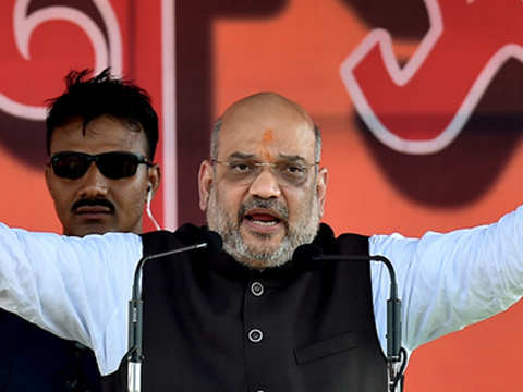 Opposition more concerned about human rights of infiltrators: Amit Shah