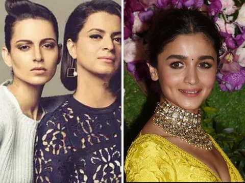 After Kangana Ranaut, now sister Rangoli joins Twitter tirade against Alia Bhatt & Soni Razdan