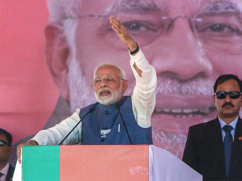 PM Modi says Congress only talking about 'Modi Hatao'