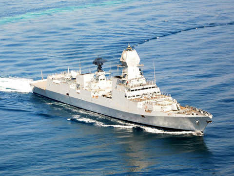 Indian Navy warships to take part in Chinese fleet review