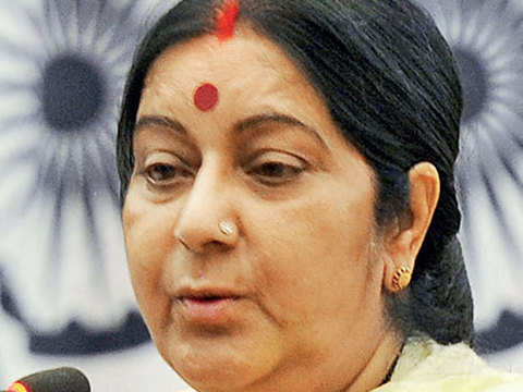 Sushma Swaraj asks Indians stranded in Tripoli to leave immediately
