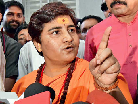 BJP ticket biggest clean chit for me, says Pragya Thakur