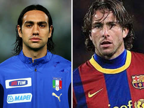 Falling short of a goal: Alessandro Nesta, Maxwell chose to fire blanks on the big stage