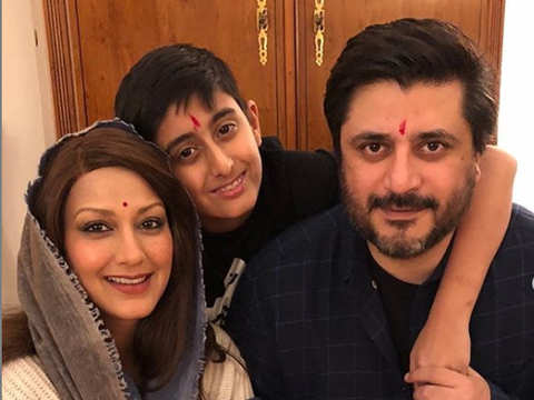 Sonali Bendre calls husband Goldie Behl her 'pillar of strength' in fight against cancer