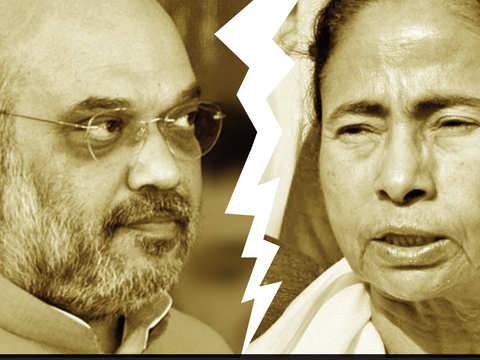 Amit Shah & Trinamool accuse each other of violence