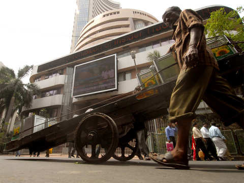 Sensex, Nifty edge higher; foreign outflow concerns cap gains