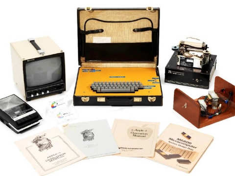c7e0694755c5 Rare Apple-1 computer to go under the hammer at Christie's, may fetch Rs