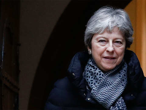 Theresa May pledges 'new and improved deal' to save her Brexit plan