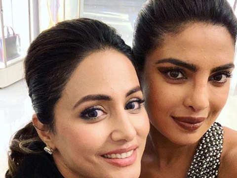 A walking inspiration: Hina Khan has a fangirl moment with Priyanka Chopra Jonas in Cannes