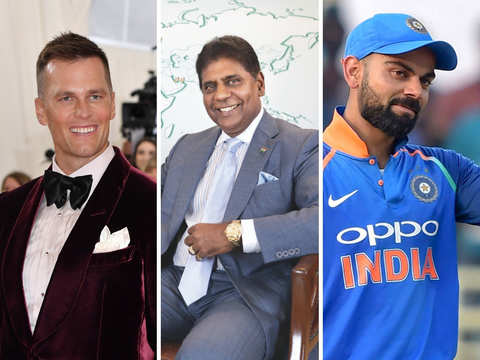Tom Brady or Virat Kohli: Who tops Vijay Amritraj's list of favourite sports stars?