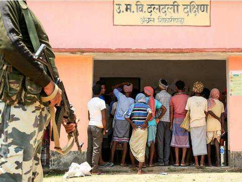 More security forces for Lok Sabha polls than operation Brasstacks